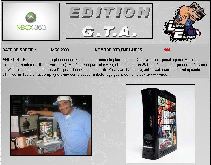 XBOX 360   Edition Gran - XBOX 360 : Edition G.T.A. IV 360_gt10