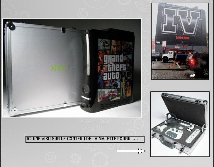 XBOX 360   Edition Gran - XBOX 360 : Edition G.T.A. IV 360_gt11