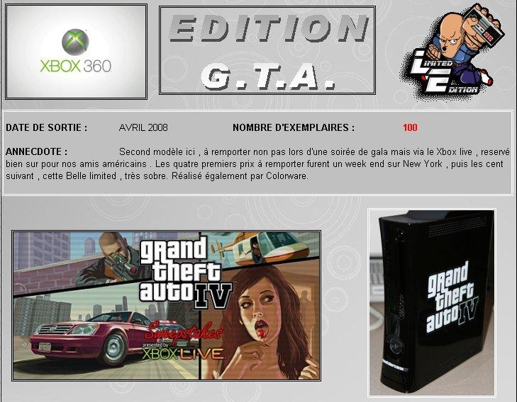 XBOX 360   Edition Gran - XBOX 360 : Edition G.T.A. IV 360_gt13