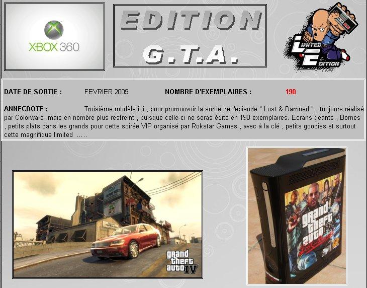 XBOX 360   Edition Gran - XBOX 360 : Edition G.T.A. IV 360_gt16