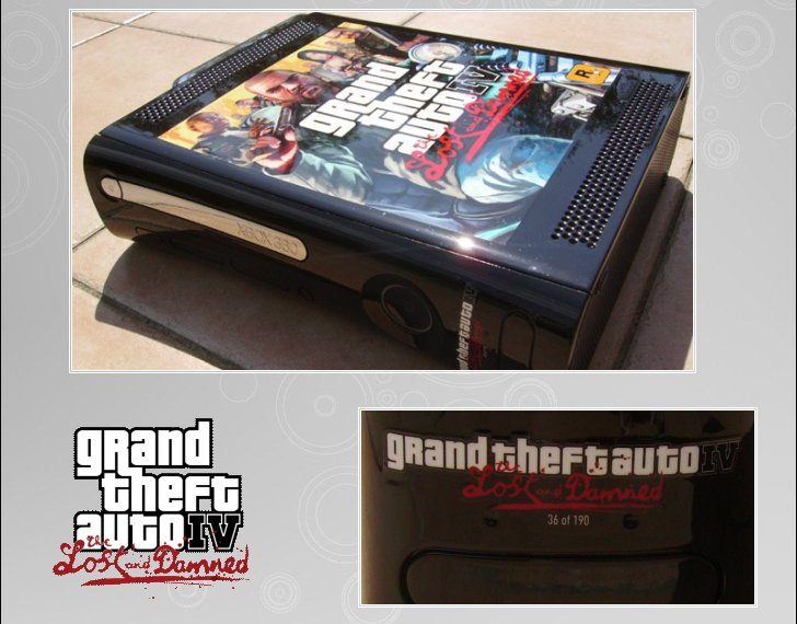 XBOX 360   Edition Gran - XBOX 360 : Edition G.T.A. IV 360_gt17