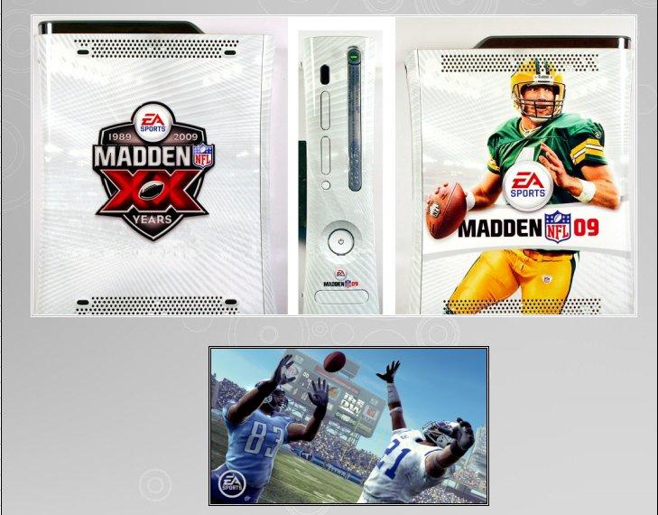 XBOX 360 : Edition MADDEN 09 360_ma11