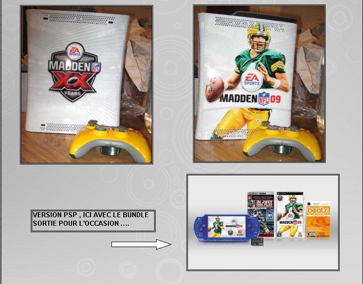 XBOX 360 : Edition MADDEN 09 360_ma12