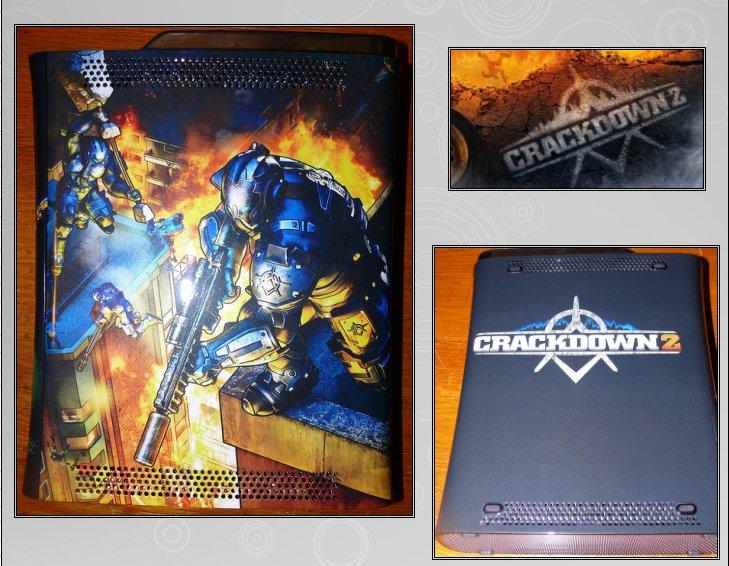 XBOX 360 : Edition CRACKDOWN 2 Crackd12