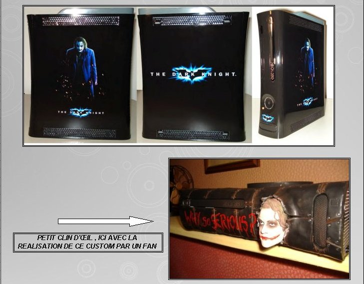 XBOX 360 : Edition BATMAN Dark Knight Dark0410