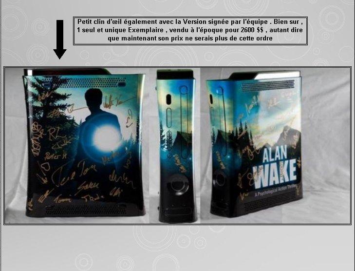 XBOX 360 : Edition ALAN WAKE Fiche_13