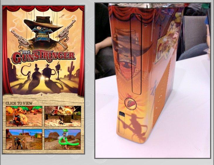 XBOX 360 : Edition GUNSTRINGER Gunstr11