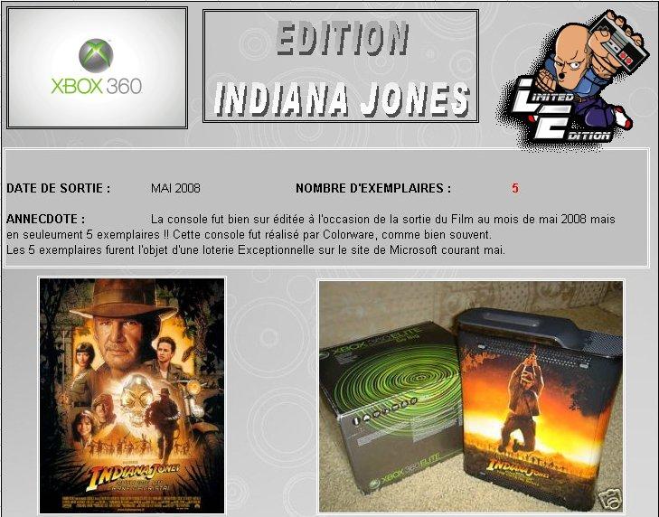 XBOX 360 : Edition INDIANA JONES Indy0110