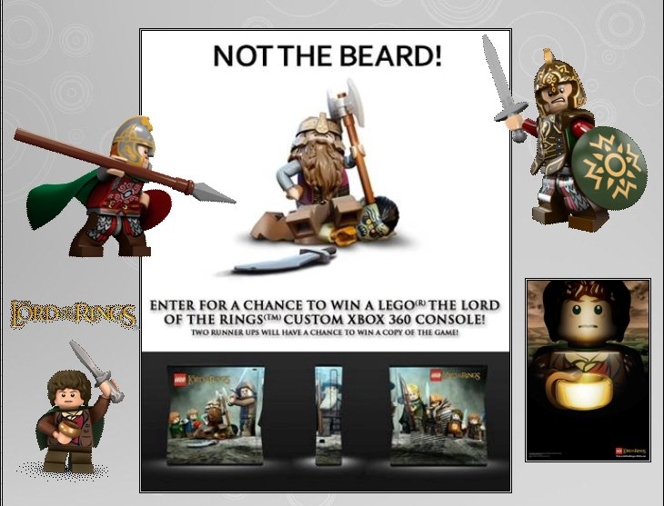 XBOX 360 : Edition LEGO Lord of the Rings Lego_l13