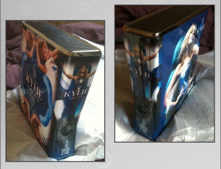 XBOX 360 : Edition KYLIE MINOGUE Minogu12
