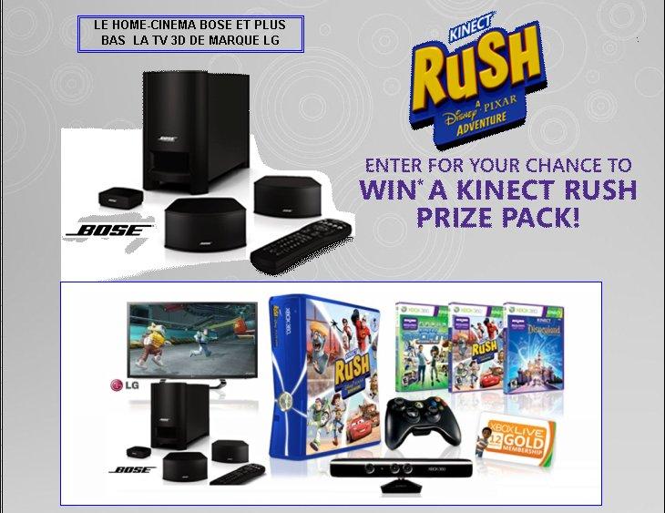 XBOX 360 : Edition RUSH KINECT Rush_k12