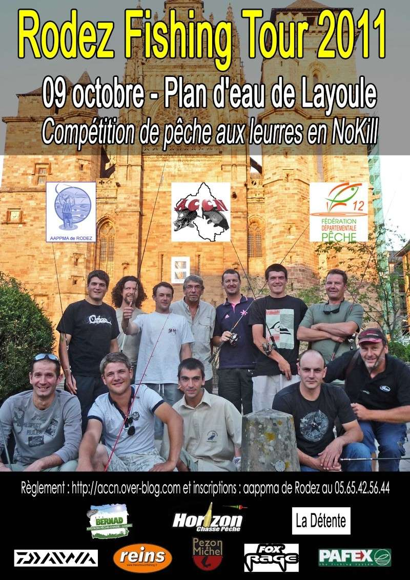 Rodez Fishing Tour Affich10