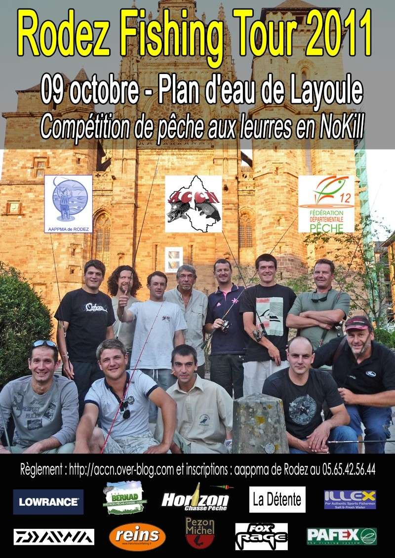 Rodez Fishing Tour Affich11
