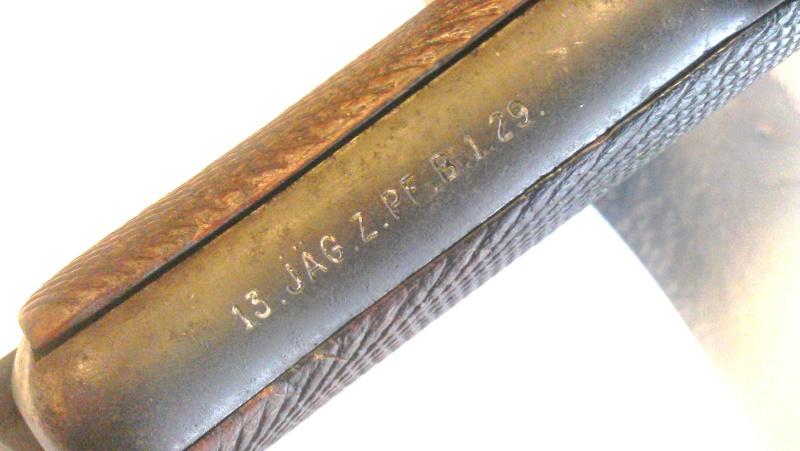 Marquage Luger Erfurt Artillerie 1914  Imag0013
