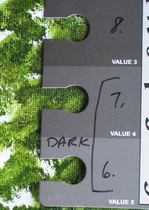 Using Grayscale and Tonal Values in Your Painting Dark_t10