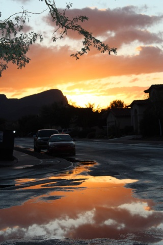 Rainy Sunset Sunset11