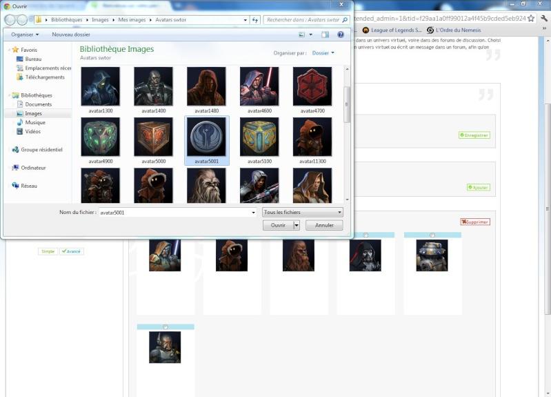 Problème lors de l'ajout d'avatar dans la galerie d'avatars personnels Captur12