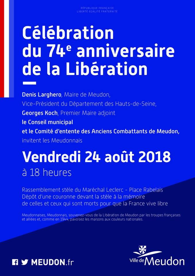 Identification de chars ayant libéré la ville de Meudon. 36268010