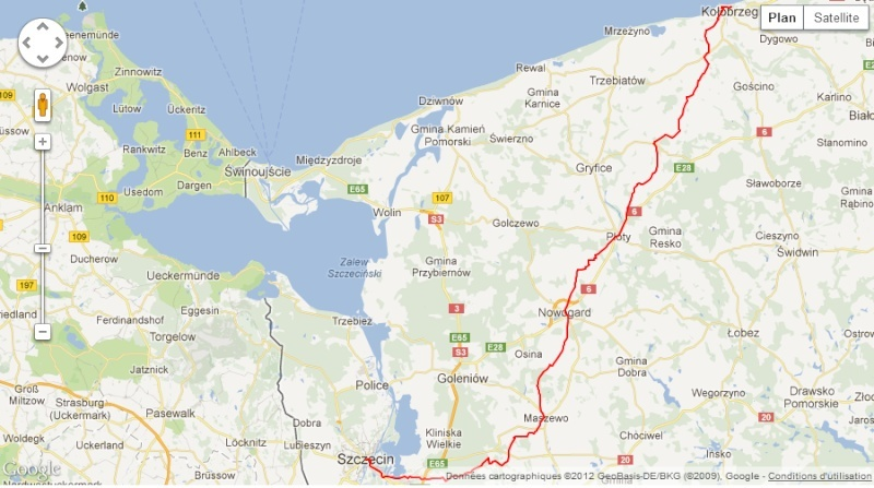 147km en ligne /48h: Szczecin-Kolobrzeg (Pl): 7-9 juin 2013 147_ul11