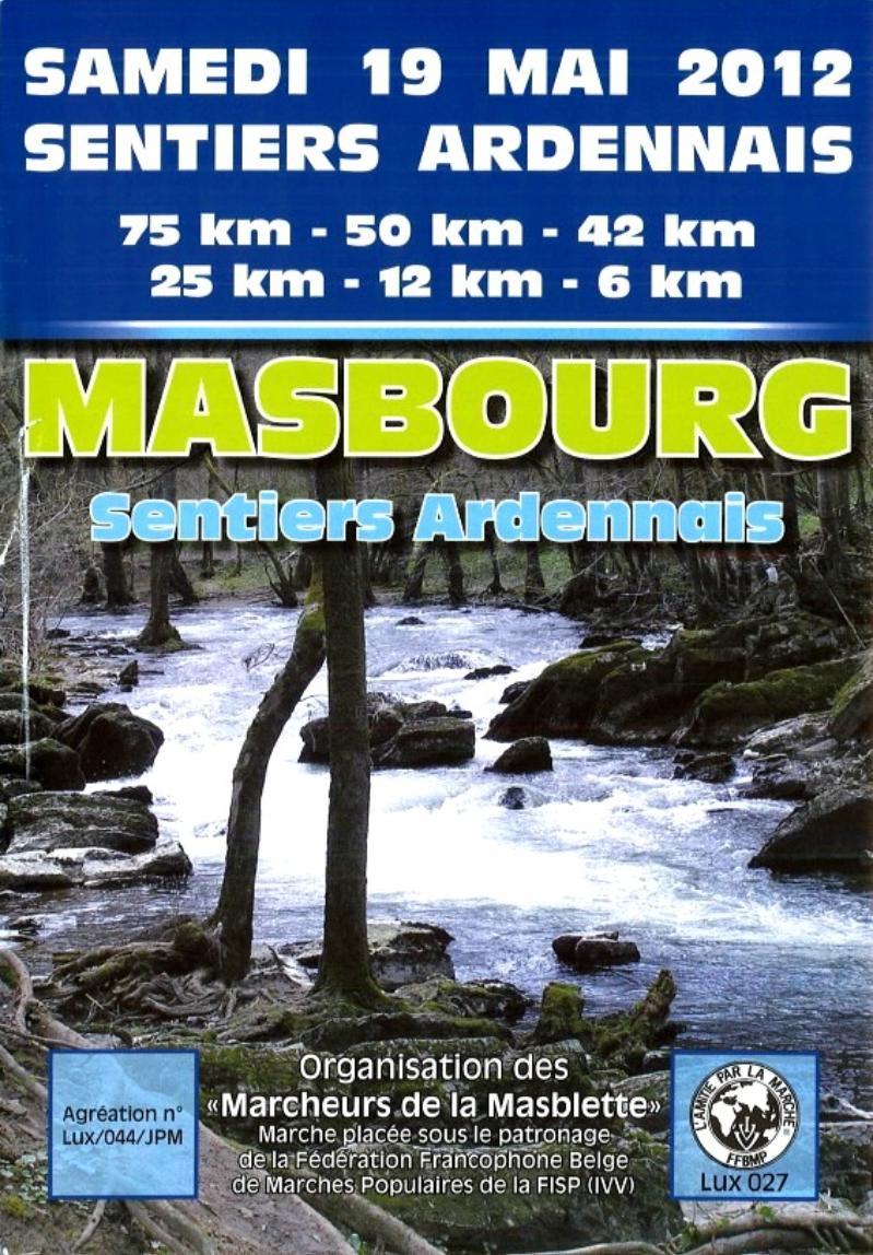 "75km ""sentiers Ardennais"" à Masbourg (B): 19/05/2012 2010"