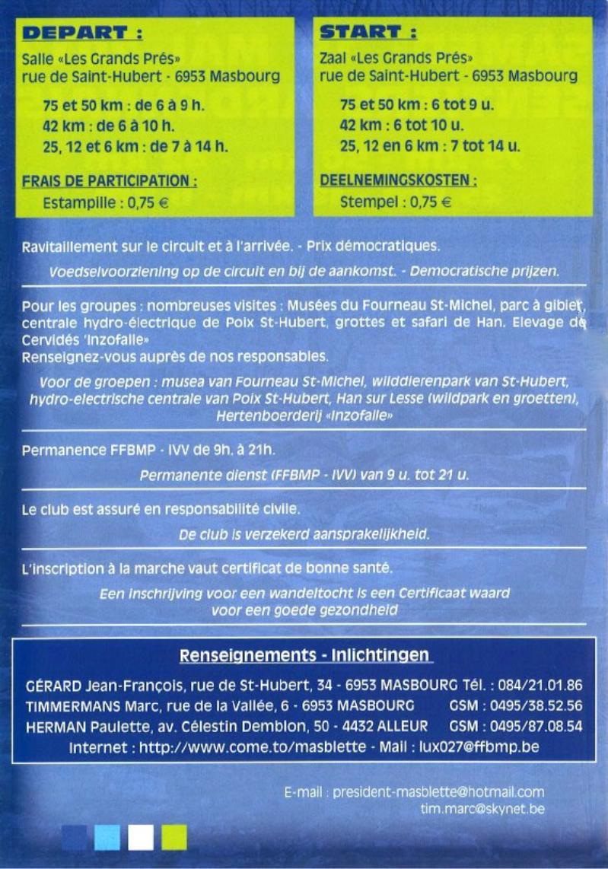 "75km ""sentiers Ardennais"" à Masbourg (B): 19/05/2012 2110"