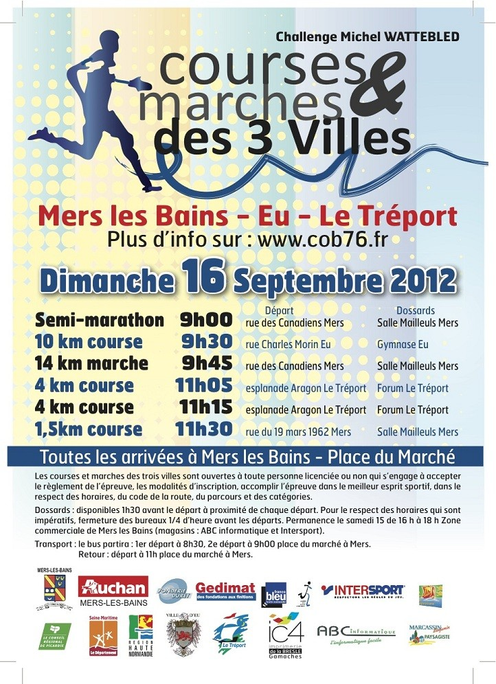 14 km des 3 villes soeurs (Eu-Le Tréport-Mers): 16/09/2012 3_vill10
