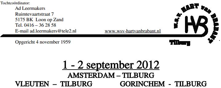 Amsterdam-Tilburg (NL): 125km (ou 80 ou 40): 01-02/09/2012 Amster10