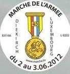 Diekirch, Marche de l'Armée:12, 20, 2x20, 2x40km: 2-3/6/2012 Diekir11