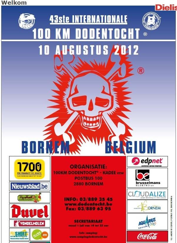 + de 10.000 marcheurs! 100km DODENTOCHT (B): 10-11/08/2012 Dodent10