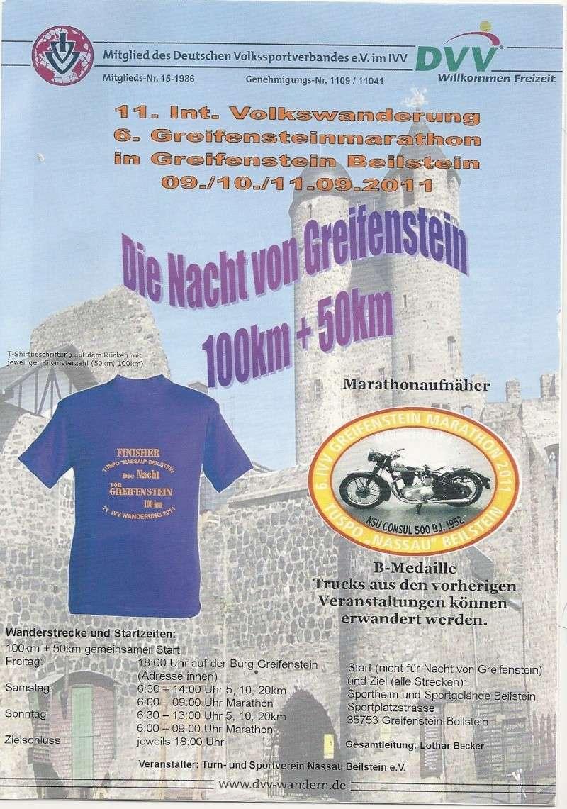 """100 km """"Nuit de Greifenstein"""" (D): 09-10/09/2011 Greife10"""