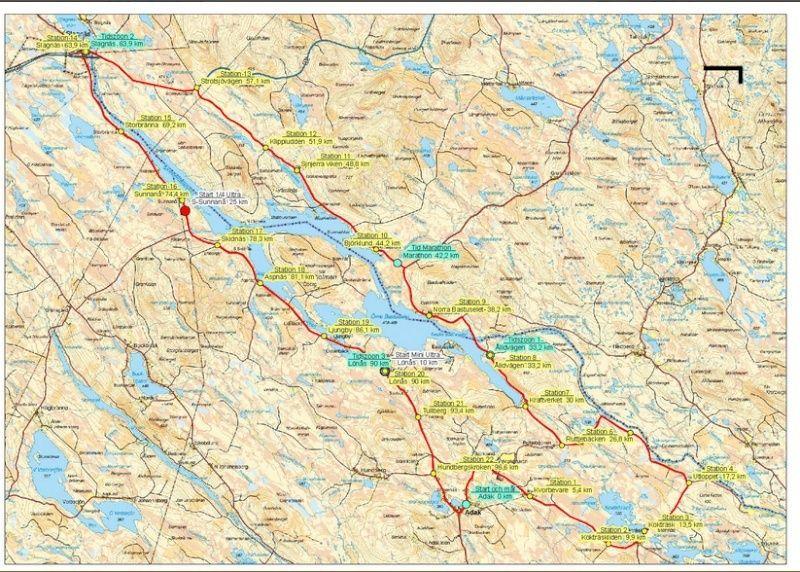 Lapland Ultra: 100km (26h) en Laponie: 28-29 juin 2013 Laplan10