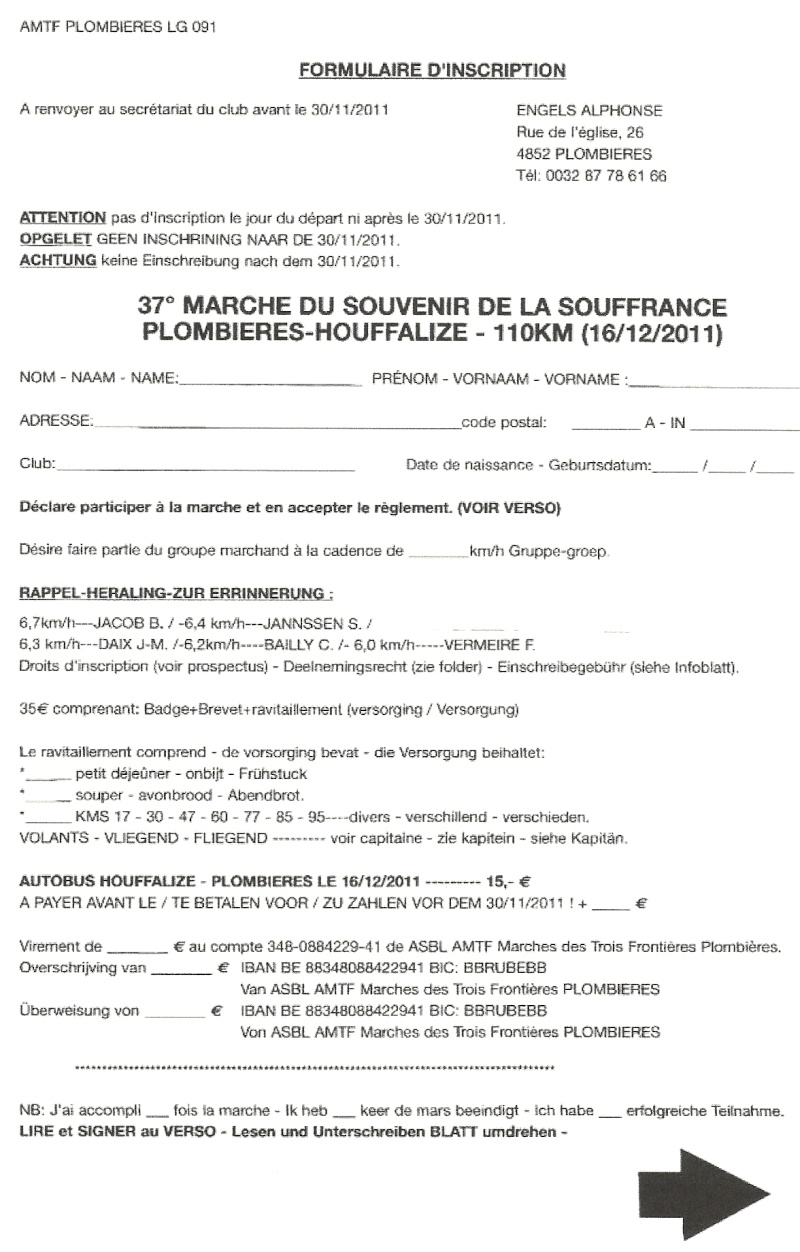 110km Plombières-Houffalize (B): 16-17/12/2011 Numari21