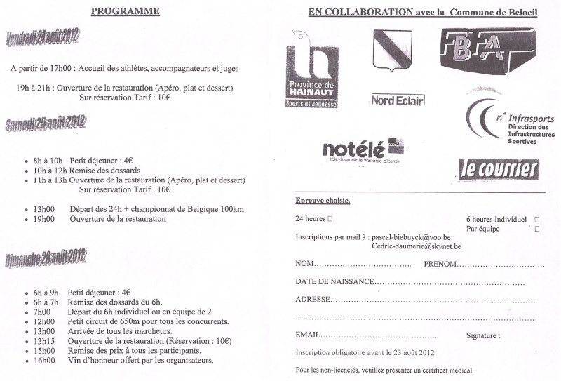 24 heures de Wadelincourt (B): 25-26 août 2012 Numari27