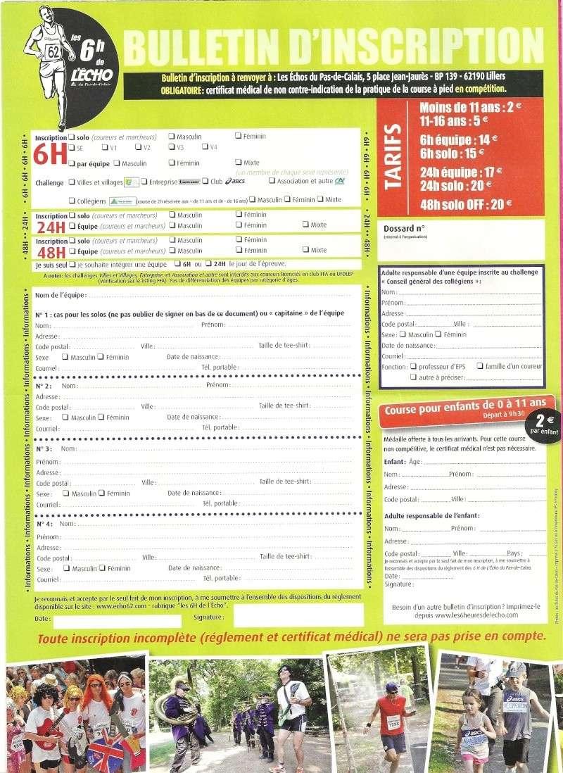 6h et 24h de L'Echo: Parc d'Ohlain (62): 24 juin 2012 Numari41