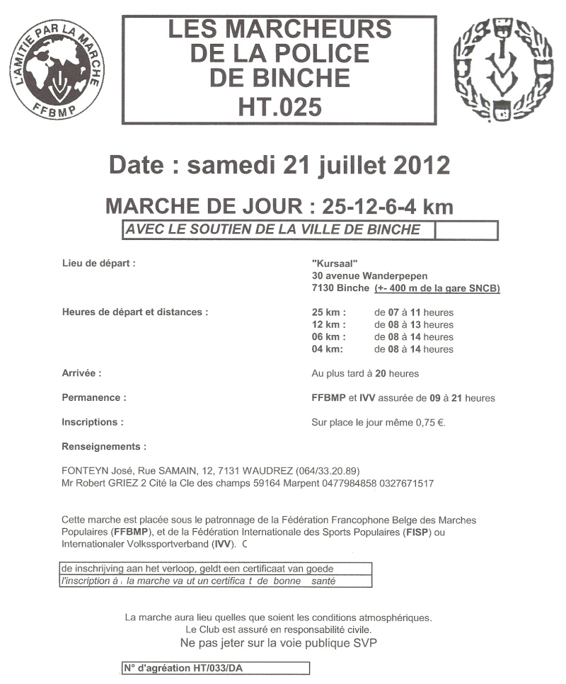 100km de Binche (B): 20-21 juillet 2012 Numari43