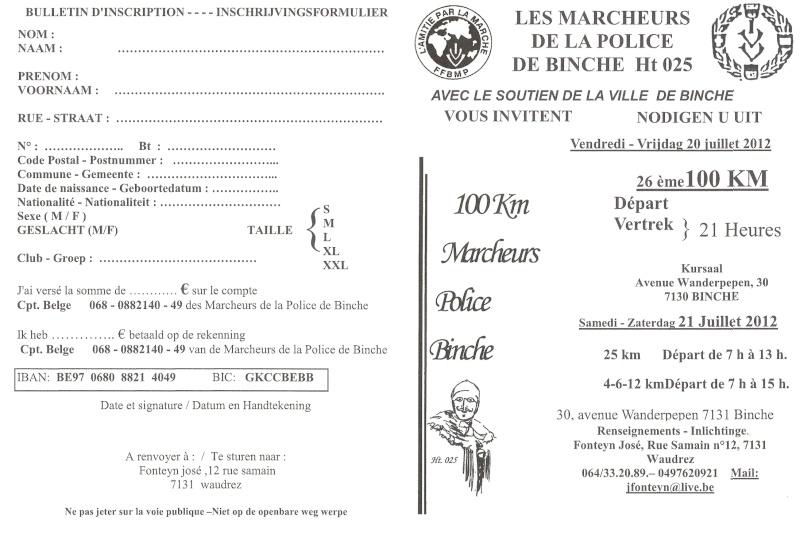 100km de Binche (B): 20-21 juillet 2012 Numari45