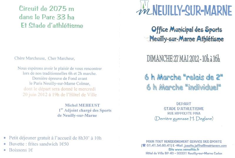 6h et 2h de Neuilly sur Marne: 27 mai 2012 Numari46