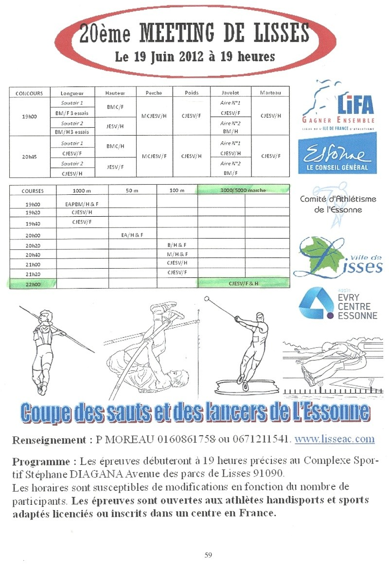 20ème meeting de Lisses: 19 juin 2012 Numari55