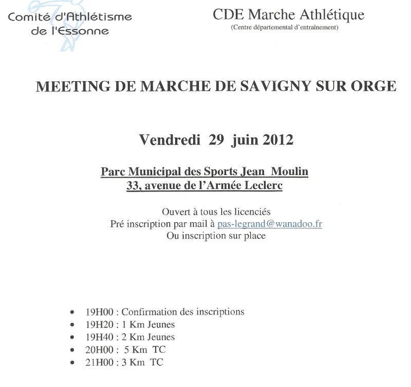 Meeting de marche de Savigny sur Orge: 29 juin 2012 Numari56