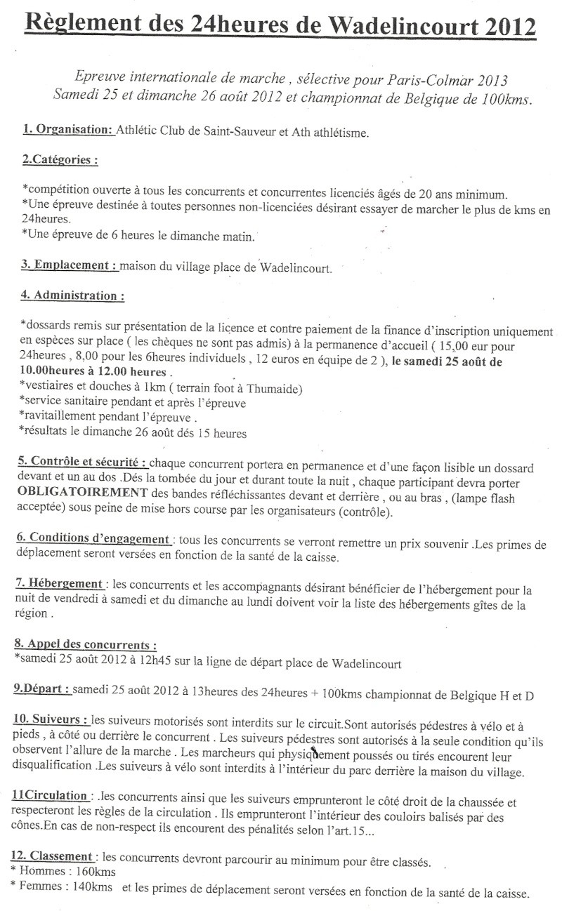 24 heures de Wadelincourt (B): 25-26 août 2012 Numari68