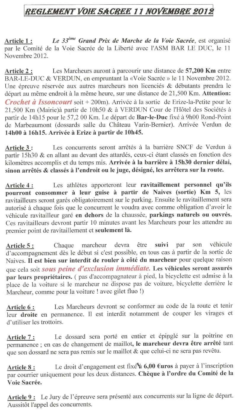 Grand Prix de la Voie Sacrée : 11 novembre 2012 Numari73