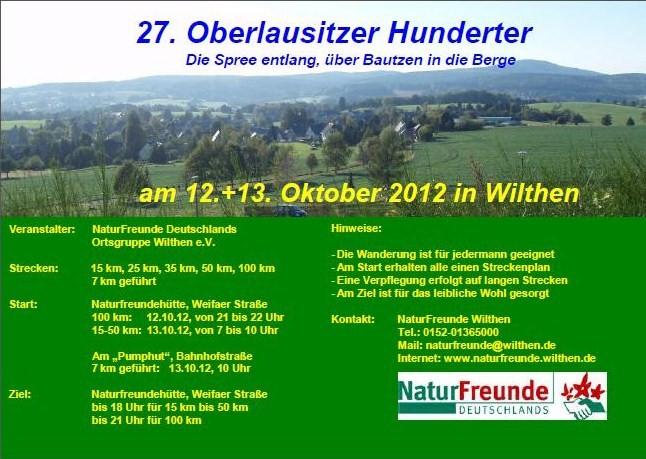 27ème Oberlausitzer Hunderter (D); 100Km; 12-13/10/2012 Oberla10