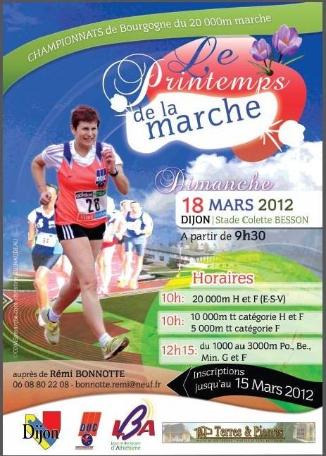18 03 2012 - 2ÈME ÉDITION DU PRINTEMPS DE LA MARCHE À DIJON Printe10