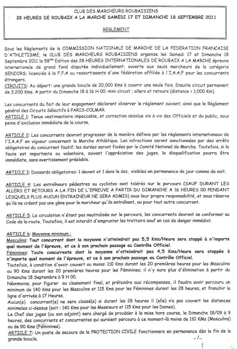 28 heures de ROUBAIX 17 et 18 Septembre 2011 Roubai13