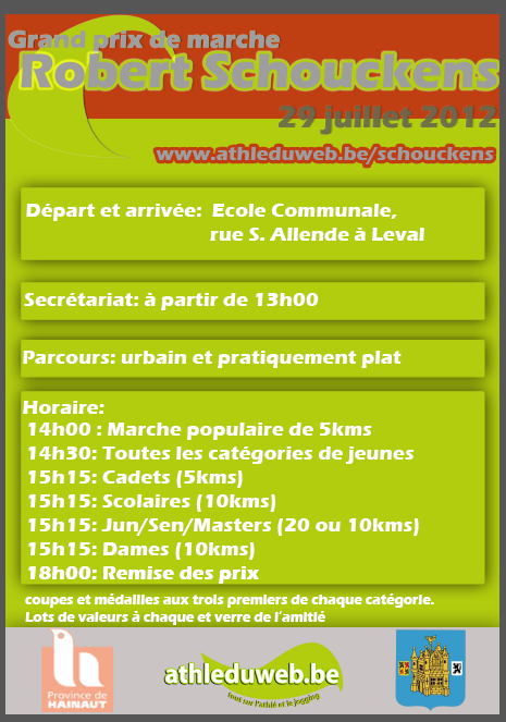 Grand Prix Robert Schoukens, 20 km : 29 juillet à Leval (B) Schouk10