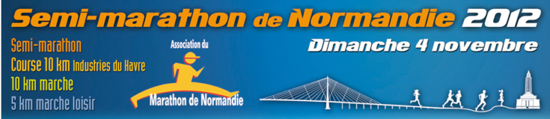 10 km  du Semi-Marathon de Normandie: 4 novembre 2012 Semi_d10