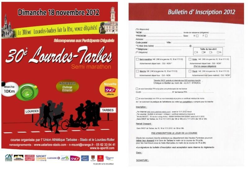 10km marche à Tarbes le 18 novembre Tarbes10