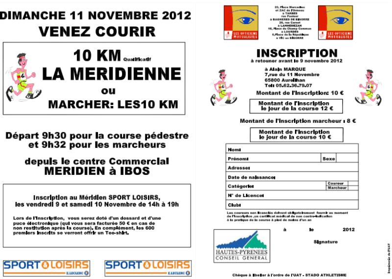 10km marche à Ibos le 11 novembre Tarbes10