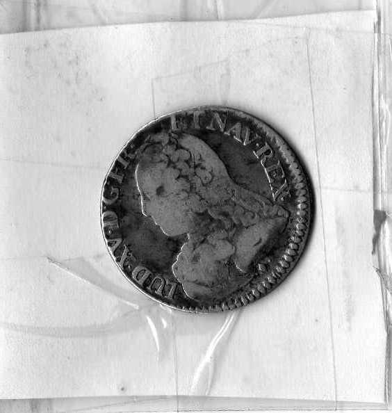 Cinquième d'écu aux branches d'olivier (Louis XV, Bayonne) [WM n° 7671] 15_ecu10