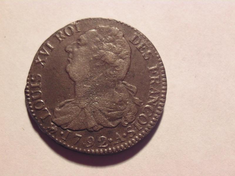 2 sols Louis XVI 1792 A Bild0710